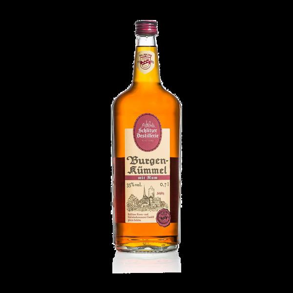 Burgen-Kümmel mit Rum 35%vol. 0,7 Liter