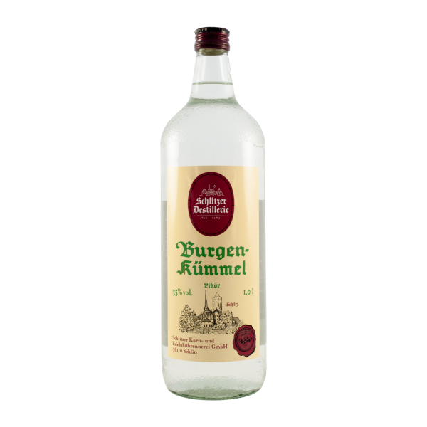 Burgen-Kümmel 35%vol. 1,0 Liter