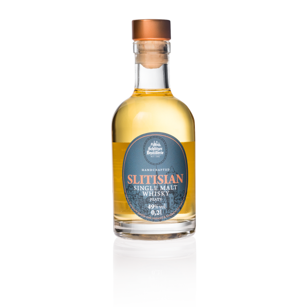 Slitisian Single Malt Whisky peaty 49%vol. 0,2 Liter
