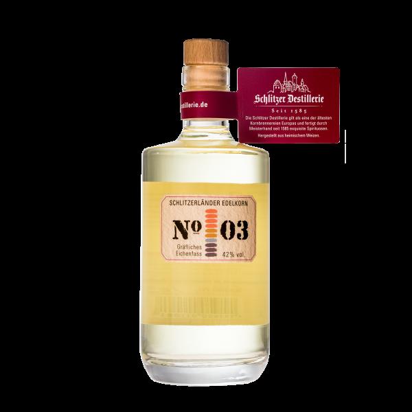 Edelkorn No.03 (gräfliches Eichenfass) 42%vol. 0,5 Liter