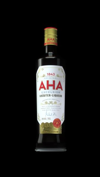 Aha Excelsior 38%vol. 0,7 Liter