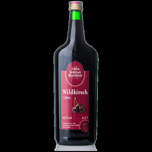 Wildkirsch Likör 25%vol. 0,7 Liter