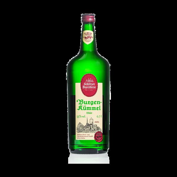 Burgen-Kümmel 35%vol. 0,7 Liter