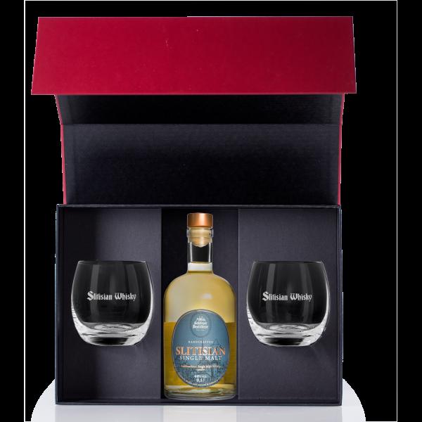 "Geschenkverpackung ""Whisky"" inkl. 2 Tumbler"