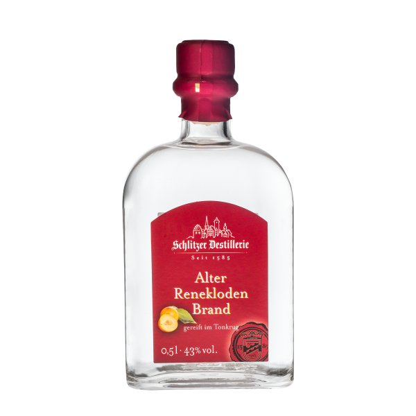Alter Reneklodenbrand 43%vol. 0,5 Liter