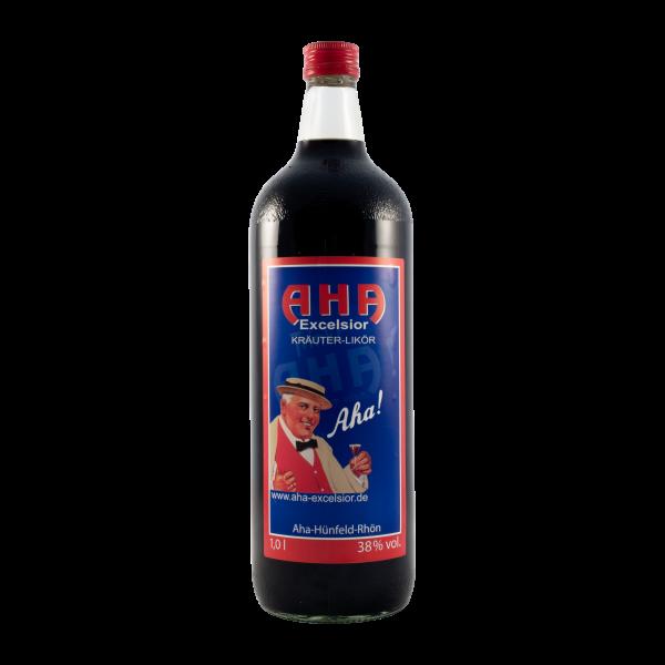 Aha Excelsior 38%vol. 1,0 Liter