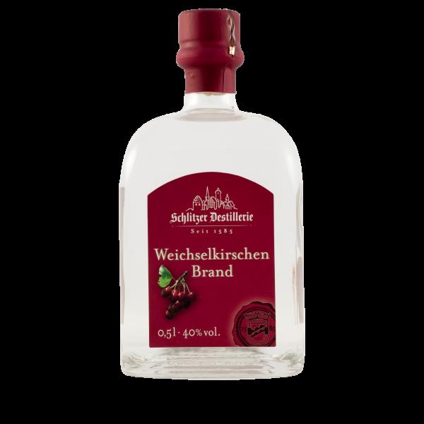 Weichselkirschenbrand 40%vol. 0,5 Liter