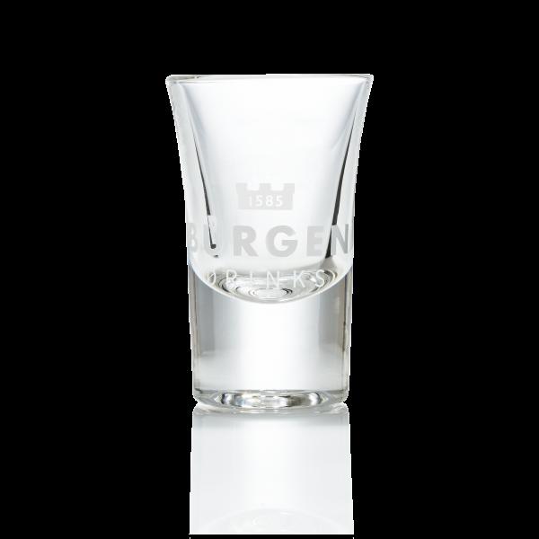 Burgen Stamper Shot Glas