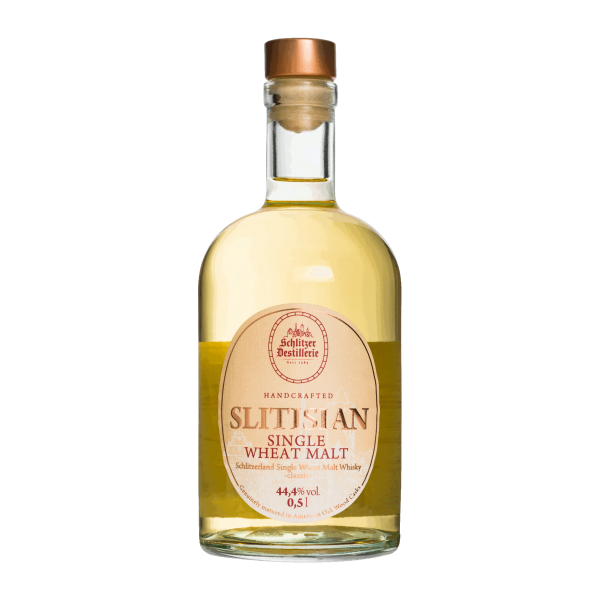 Slitisian Single Wheat Malt Whisky classic 44,4%vol. 0,5 Liter